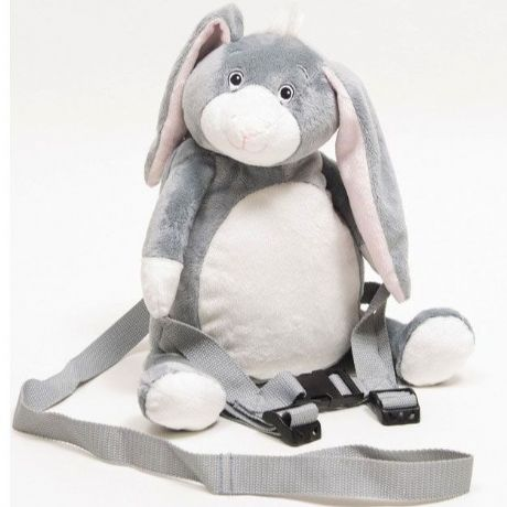 Personalised BoBo Buddies HipHop the Bunny Toddler Backpack with Reins